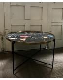 Coffe table con sobre lacado