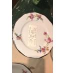 Vajilla de porcelana francesa