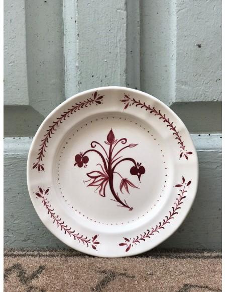 Platos de postre/merienda porcelana francesa
