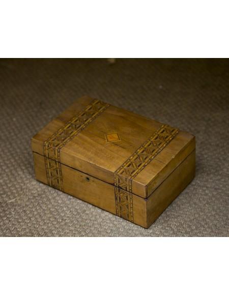 Caja escritorio inglesa S XIX
