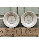 Platos soperos de porcelana de Limoges
