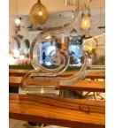 Lámpara Kartell original de metacrilato transparente