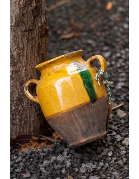 Vasija de cerámica francesa