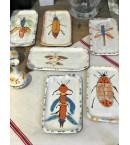 Pequeñas fuentes rectangulares de cerámica artesanal Oïto