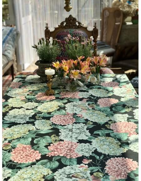 Mantel de algodón 100% estampado floral