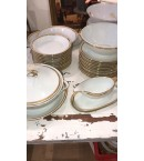 Vajilla de porcelana Francesa marcada Porcelaine de Sologne