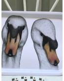 Bandeja de melanina (aptas para microondas y lavavajillas) con animales.