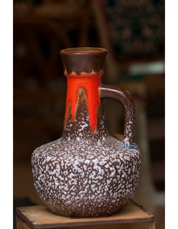 Jarrón de cerámica alemana