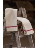 Caminos de mesa de lino antiguo