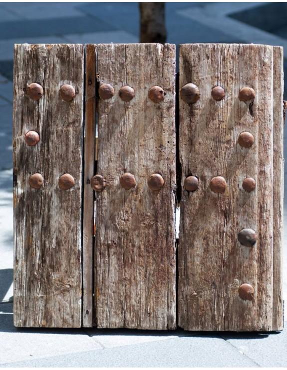 Contraventana de madera