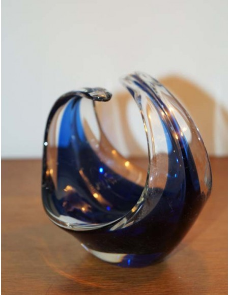 Cenicero de cristal de Murano