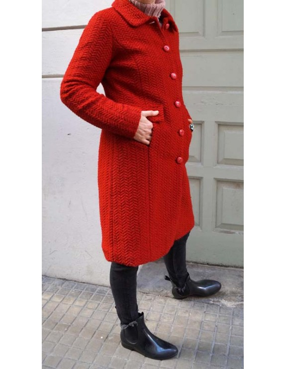 Abrigo francés vintage