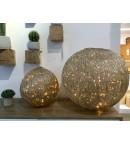 Bolas luminosas de leds  60 cm de diámetro